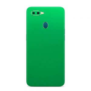 Skin Electric Apple Oppo A7