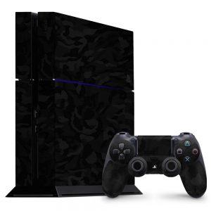 Skin Shadow Black PlayStation 4