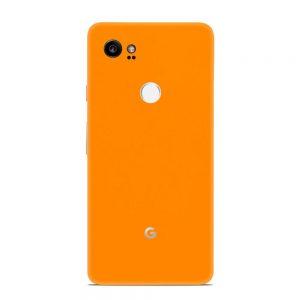 Skin Portocaliu Mat Google Pixel 2 XL