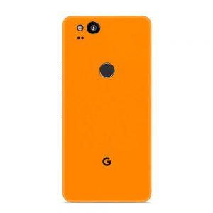 Skin Portocaliu Mat Google Pixel 2
