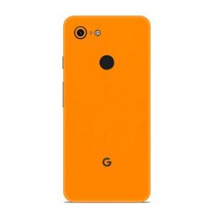 Skin Portocaliu Mat Google Pixel 3 XL