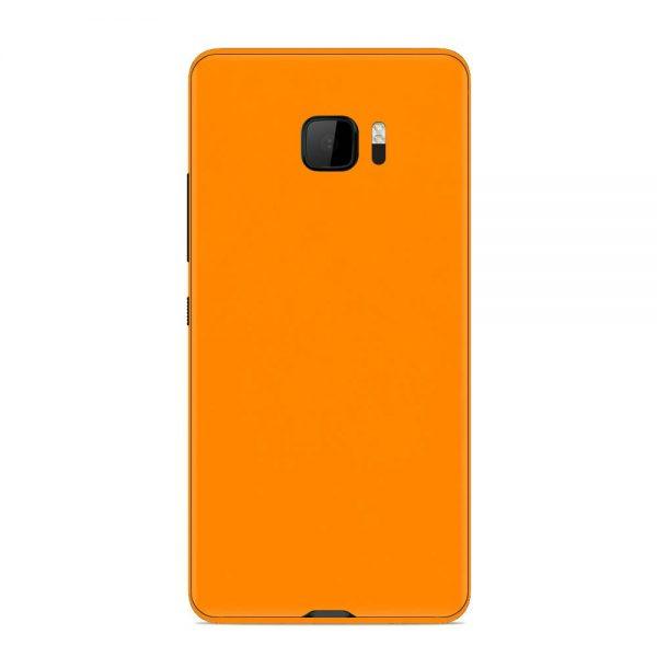 Skin Portocaliu Mat HTC U Ultra