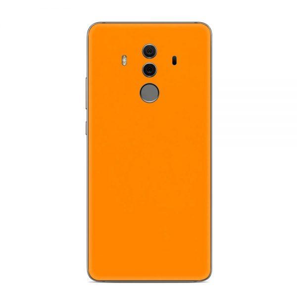 Skin Portocaliu Mat Huawei Mate 10 Pro