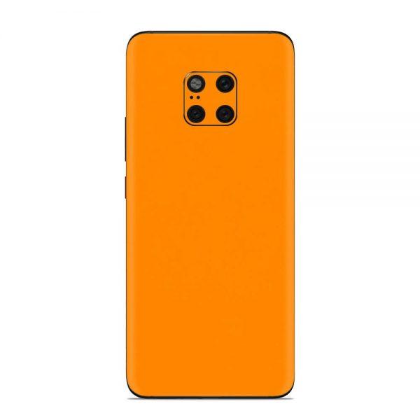 Skin Portocaliu Mat Huawei Mate 20 Pro