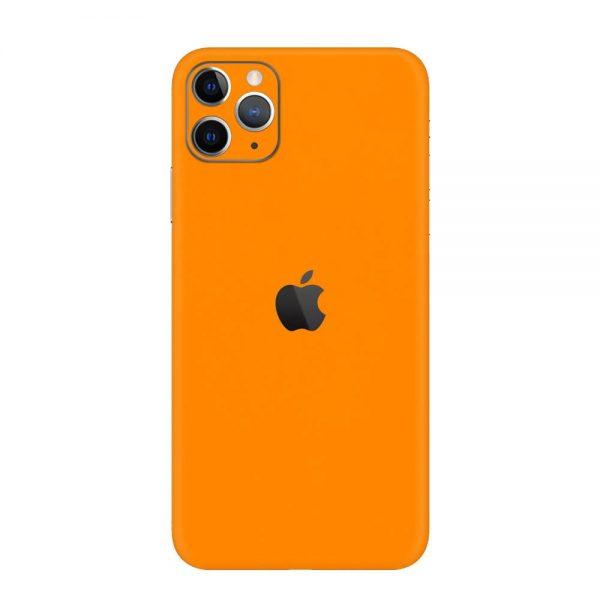 Skin Portocaliu Mat iPhone 11 Pro / iPhone 11 Pro Max