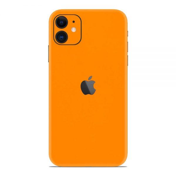 Skin Portocaliu Mat iPhone 11