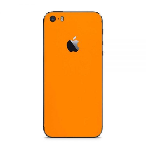 Skin Portocaliu Mat iPhone 5