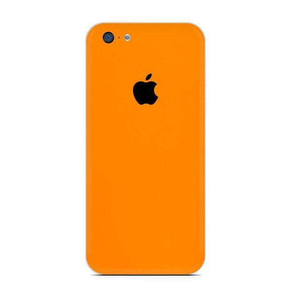 Skin Portocaliu Mat iPhone 5c