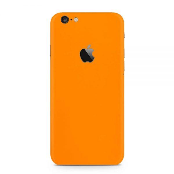 Skin Portocaliu Mat iPhone 6 / iPhone 6 Plus