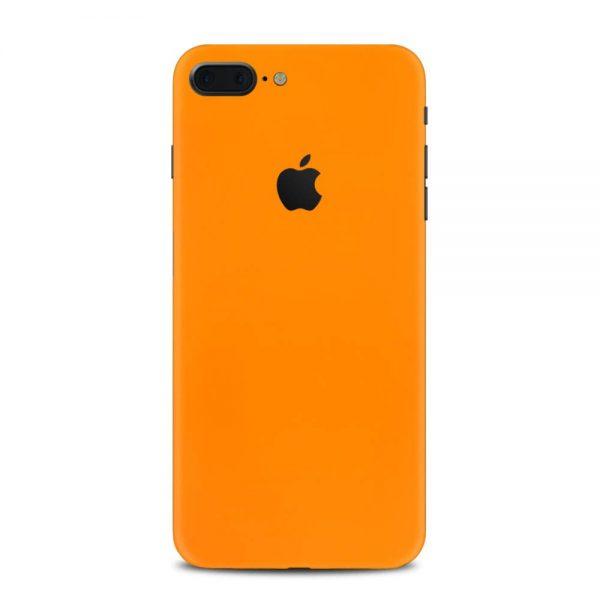Skin Portocaliu Mat iPhone 7 Plus