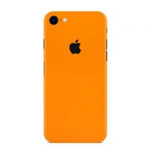 Skin Portocaliu Mat iPhone 7 / iPhone 8