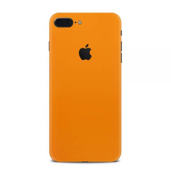 Skin Portocaliu Mat iPhone 8 Plus