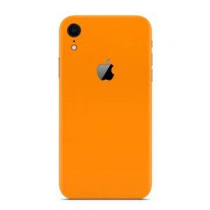 Skin Portocaliu Mat iPhone Xr