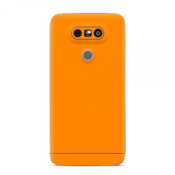 Skin Portocaliu Mat LG G5