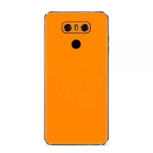 Skin Portocaliu Mat LG G6