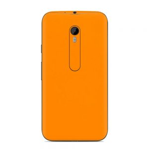 Skin Portocaliu Mat Motorola G3