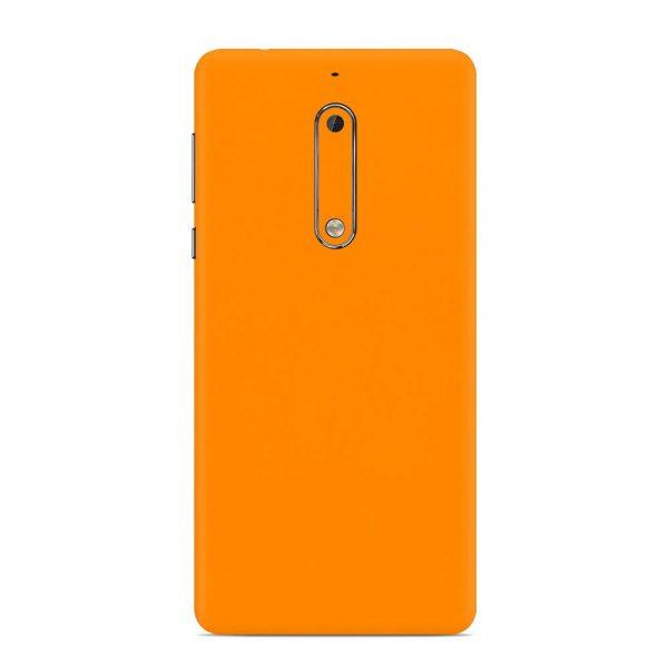 Skin Portocaliu Mat Nokia 5