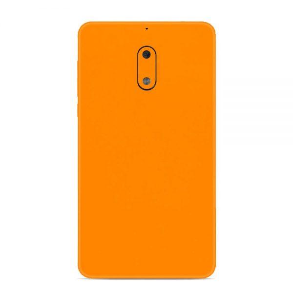 Skin Portocaliu Mat Nokia 6