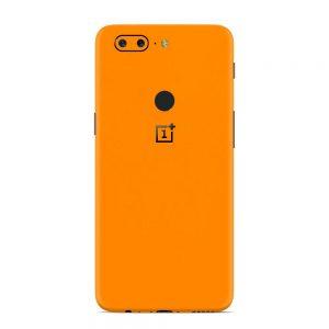 Skin Portocaliu Mat OnePlus 5T