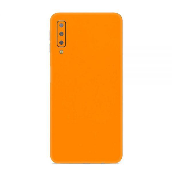 Skin Portocaliu Mat Samsung Galaxy A7