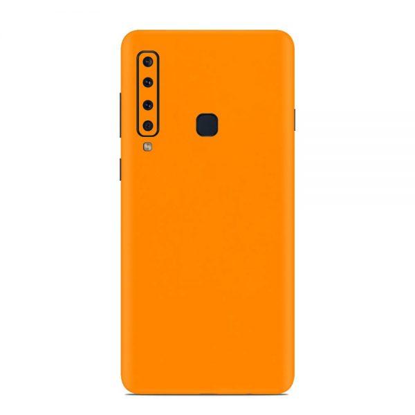 Skin Portocaliu Mat Samsung Galaxy A9 (2018)