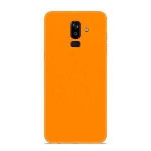 Skin Portocaliu Mat Samsung Galaxy J8