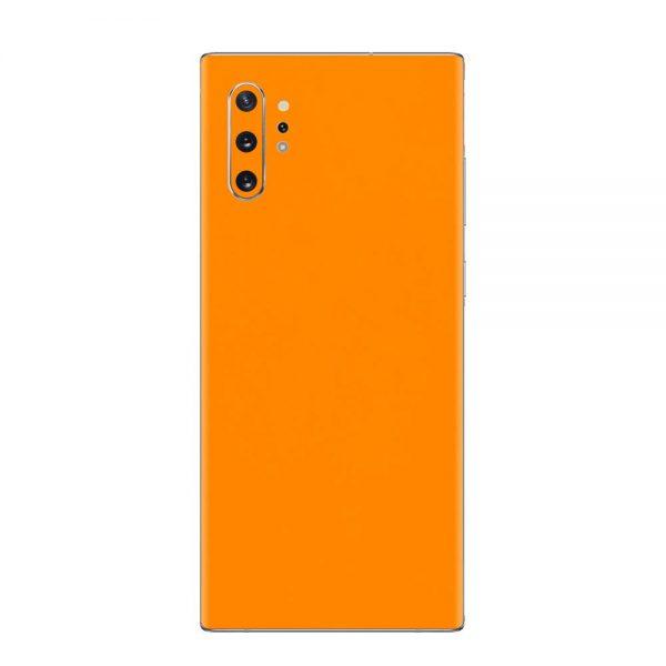 Skin Portocaliu Mat Samsung Galaxy Note 10 / Note 10 Plus