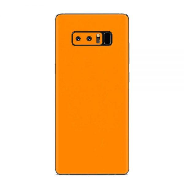 Skin Portocaliu Mat Samsung Galaxy Note 8