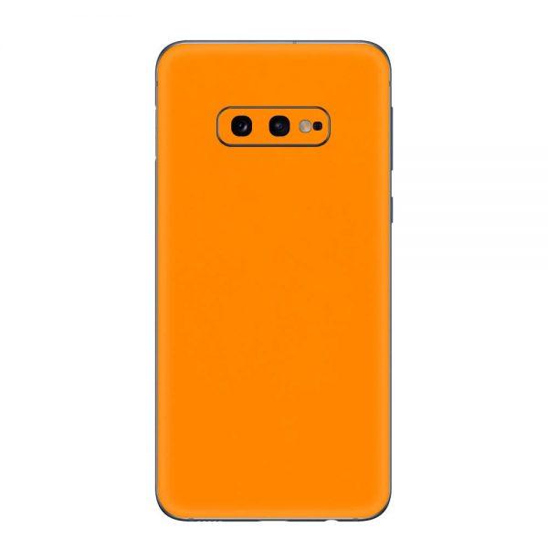 Skin Portocaliu Mat Samsung Galaxy S10e