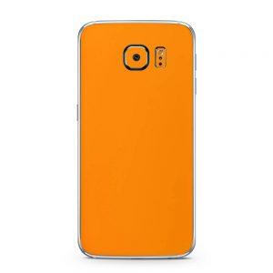 Skin Portocaliu Mat Samsung Galaxy S6