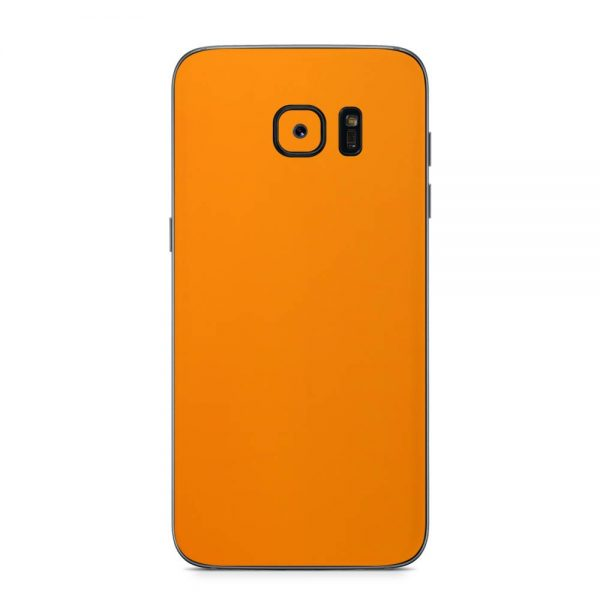 Skin Portocaliu Mat Samsung Galaxy S7 Edge
