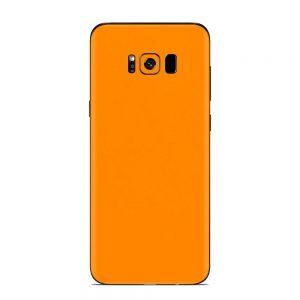 Skin Portocaliu Mat Samsung Galaxy S8 Plus