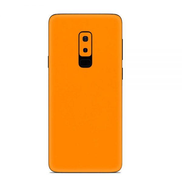 Skin Portocaliu Mat Samsung Galaxy S9 Plus