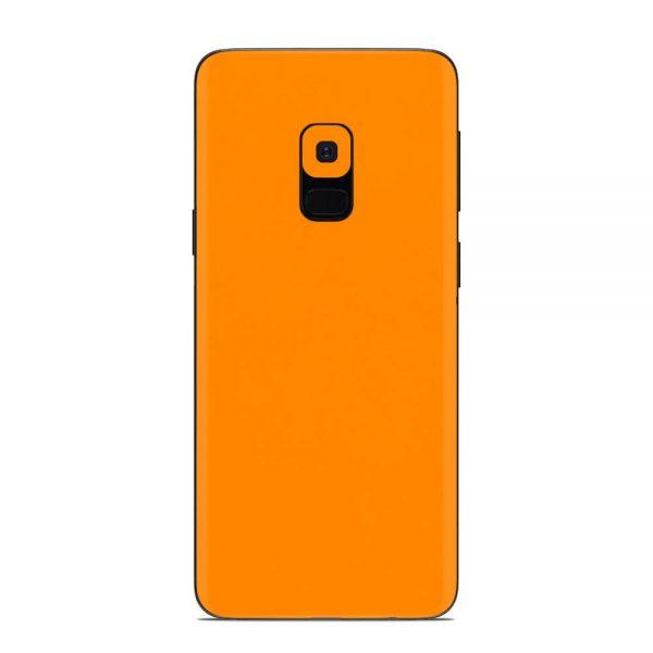 Skin Portocaliu Mat Samsung Galaxy S9