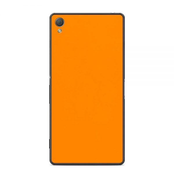 Skin Portocaliu Mat Sony Xperia Z3