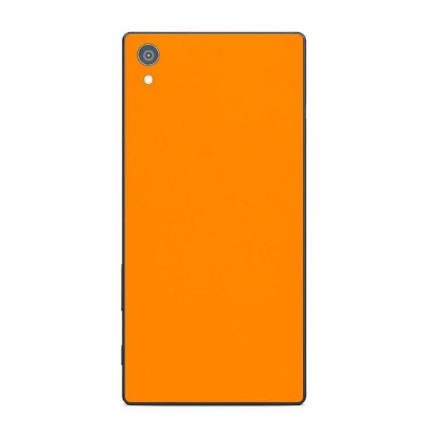 Skin Portocaliu Mat Sony Xperia Z5