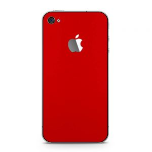 Skin Blood Red iPhone 4 / 4s