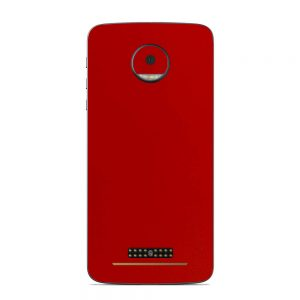 Skin Blood Red Motorola Moto Z