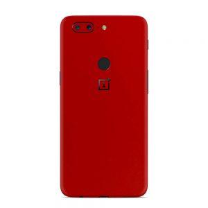 Skin Blood Red OnePlus 5T