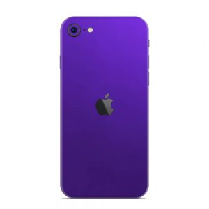 Skin Electric Purple iPhone SE (2020)