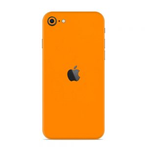 Skin Portocaliu Mat iPhone SE (2020)