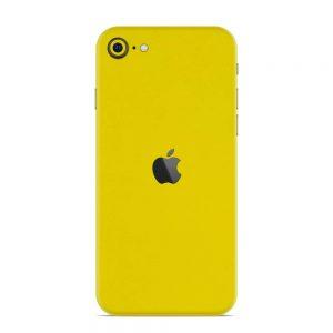 Skin Galben Lucions iPhone SE (2020)