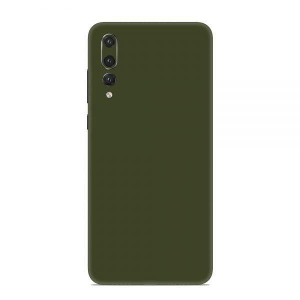 Skin Nato Green Mat Huawei P20 Pro