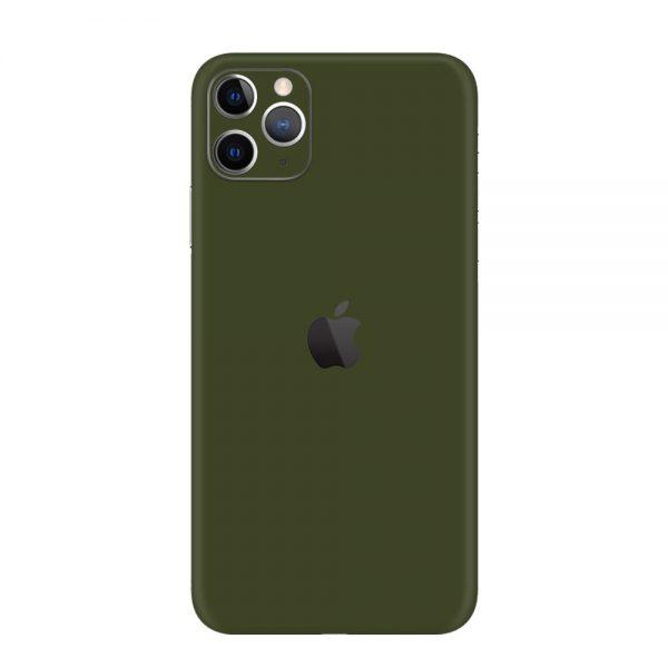 Skin Nato Green Mat iPhone 11 Pro / 11 Pro Max