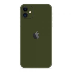 Skin Nato Green Mat iPhone 11