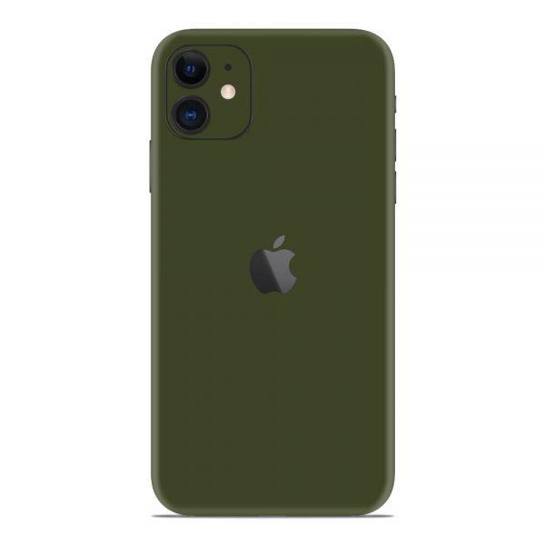 Skin Nato Green Mat iPhone 11