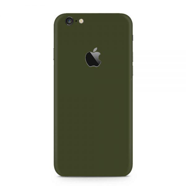Skin Nato Green Mat iPhone 6 / 6s / 6 Plus / 6s Plus