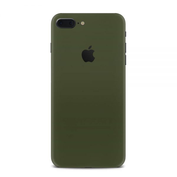 Skin Nato Green Mat iPhone 7 Plus / 8 Plus