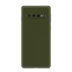 Skin Nato Green Mat Samsung Galaxy S10 / S10 Plus