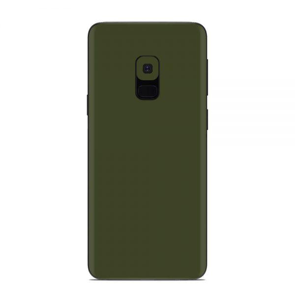 Skin Nato Green Mat Samsung Galaxy S9